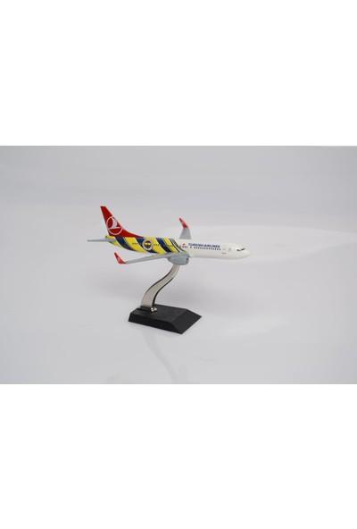 TK Collection B737-800 1-250 Metal Model Maket Uçak