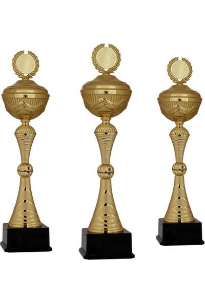 Kişiye Özel Metal Ödül Kupası K130 - 3'lü Set