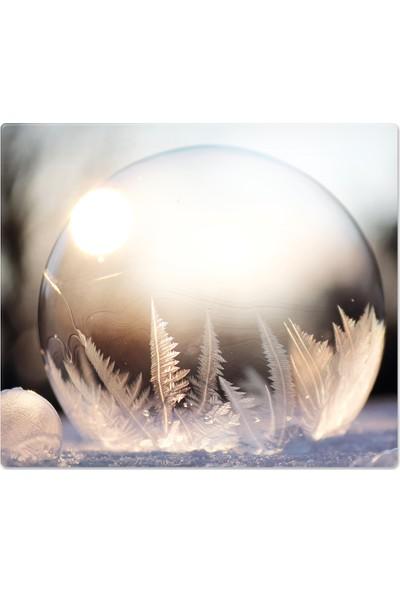 Decorita Kış Küresi | Cam Ocak Arkası Koruyucu