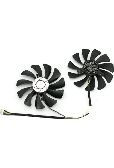 MSI 85 MM HA9010H12F-Z 4 Pin 12v 0.57A 3500 RPM Fan