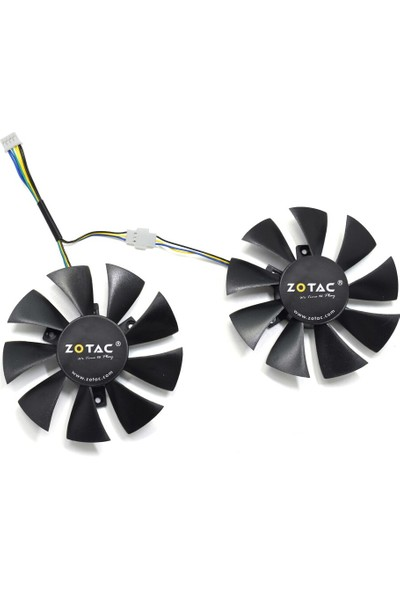 Zotac GTX 1060 AMP Edition 87 mm Fan