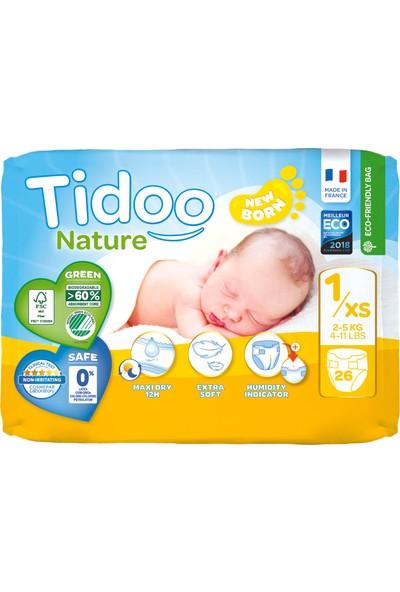 Tidoo Hipoalerjenik -Ekolojik Bebek Bezi No:1 Yenidoğan Single 2-5kg