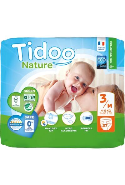 Tidoo Hipoalerjenik-Ekolojik Bebek Bezi No:3 Midi Single 4-9 kg