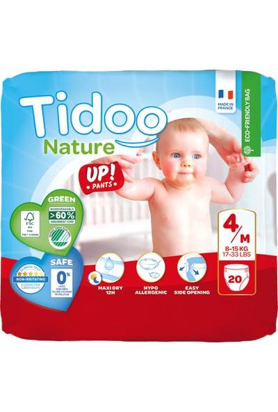 Tidoo Hipoalerjenik-Ekolojik No:4 Alıştırma Külodu Maxi Single