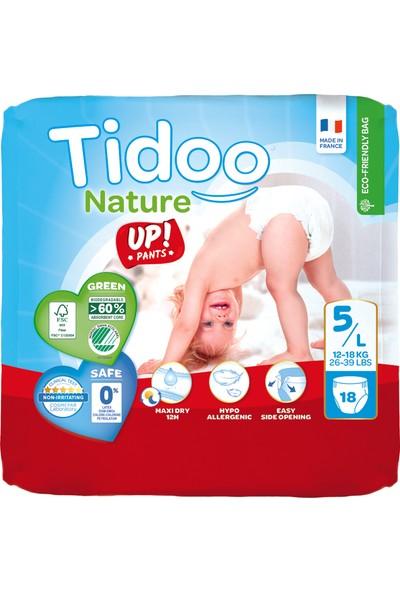 Tidoo Hipoalerjenik-Ekolojik No:5 Alıştırma Külodu Junior Single