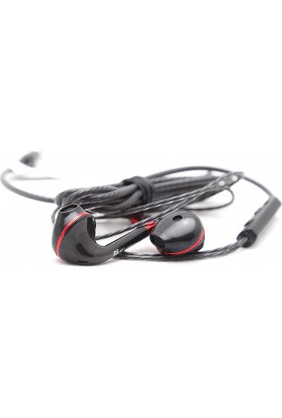 Blue Spectrum BS-03 Kulakiçi Mikrofonlu Kulaklık - Siyah
