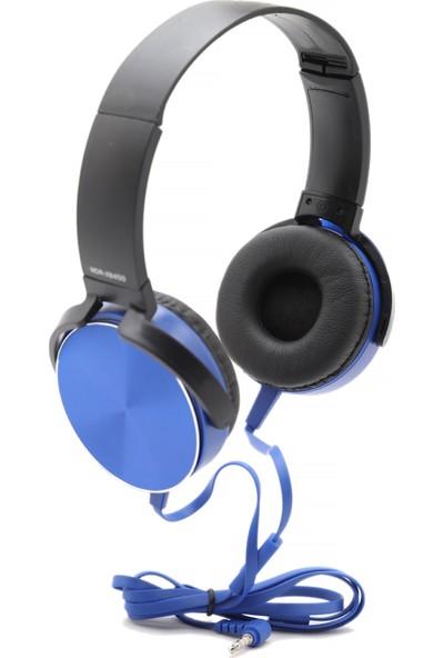 MDR-XB450AP Extra Bass Mikrofonlu Kulaklık - Mavi