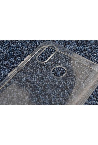 KNY Casper Via G4 Kılıf Ultra İnce Şeffaf Silikon + Nano Cam Ekran Koruyucu Şeffaf