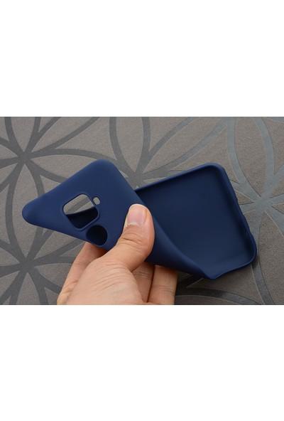 KNY Huawei Mate 30 Lite Kılıf Ultra İnce Mat Silikon + Nano Cam Ekran Koruyucu Bordo