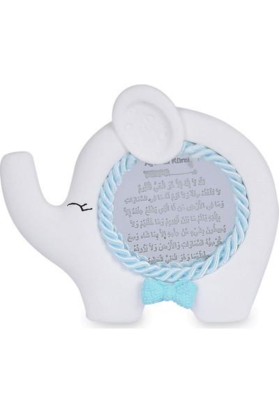 Buki'nin Atölyesi Fil Pleksi Ayetli Bebek Magnet Kokulu Taş 20 Adet