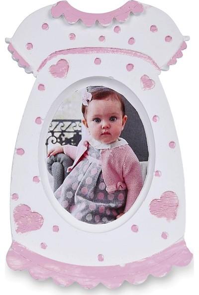 Buki'nin Atölyesi Kız Elbise Çerçeve Bebek Magnet Kokulu Taş 20 Adet