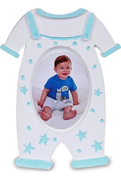 Buki'nin Atölyesi Erkek Tulum Çerçeve Bebek Magnet Kokulu Taş 20 Adet