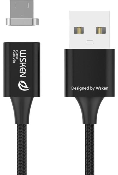 Wsken Manyetik Mikrousb Kablo