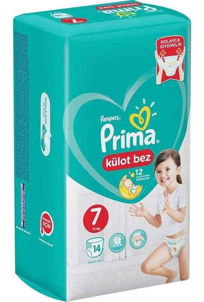 Prima Külot Bebek Bezi 7 Beden 14 Adet 17+kg
