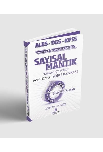 Kitap Mucidi Yayınları 2020 KPSS ALES DGS Sayısal Mantık Konu Özetli Soru Bankası Çözümlü