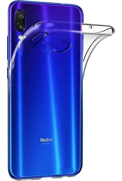 E-Depo Xiaomi Redmi Note 7 Silikon Kılıf + Ekran Koruyucu - Şeffaf