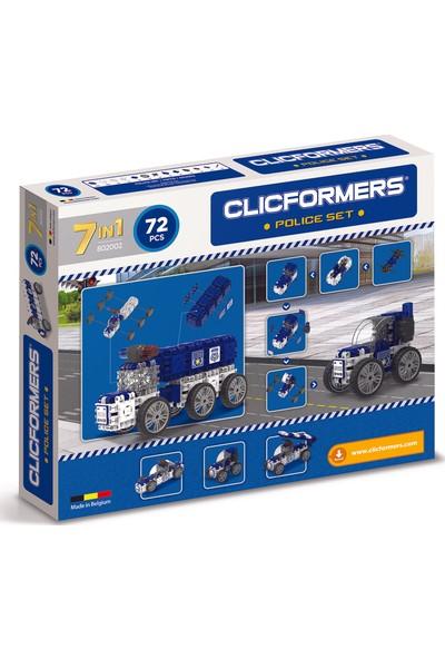 Clicformers - Police Set - 72 Parça