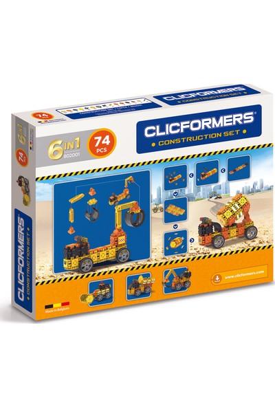 Clicformers - Oyuncak İnşaat Seti 6 in 1 - 74 Parça