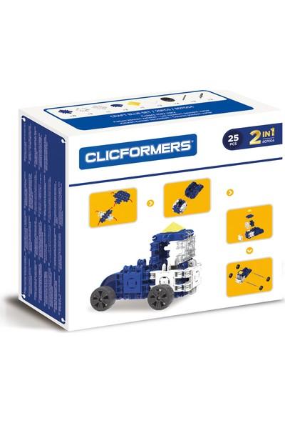 Clicformers - Craft Set Blue - 25 Parça