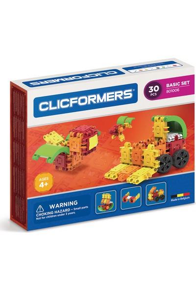 Clicformers - Basic Set - 30 Parça