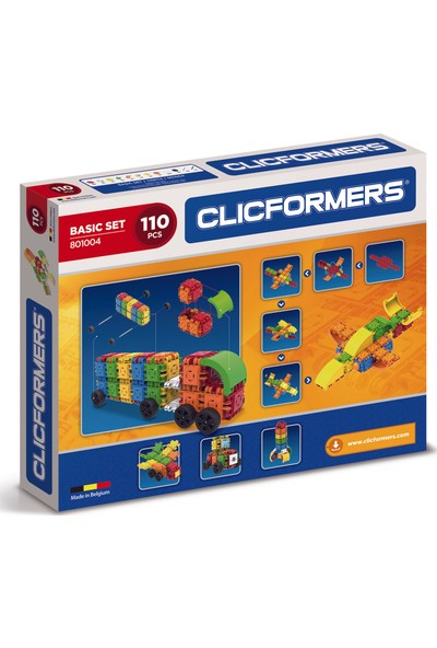 Clicformers - Basic Set - 110 Parça