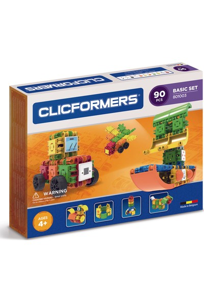 Clicformers - Basic Set - 90 Parça