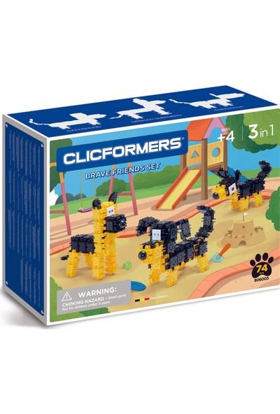 Clicformers - Brave Friends Set - 74 Parça