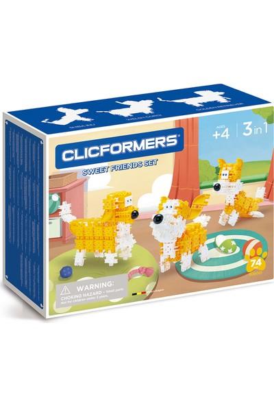 Clicformers - Sweet Friends Set - 74 Parça