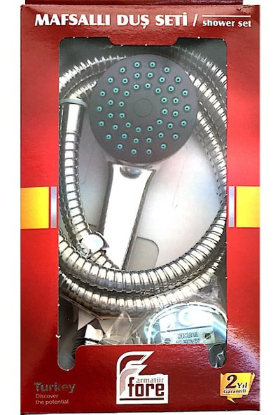 Fore MAF-201 Mafsallı (Askılı) Duş Seti