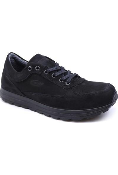 ScooterSu Geçirmez Deri Siyah Erkek Günlük Ayakkabı M5661NS