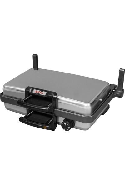 Şahur Silex Jumbo Grill Bazlama ve Lahmacun Makinesi + Turbo Pan