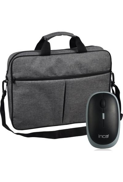 Classone BND304 15.6'' Notebook Çantası + Kablosuz Mouse