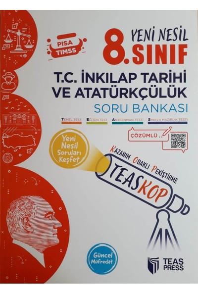 Teas Press 8. Sınıf Teaskop İnkılap Tarihi ve Atatürkçülük Soru Bankası