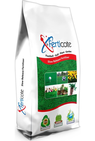 15-5-25+Me Ferticote Çim Besleme ve Bitki Bakım Gübresi