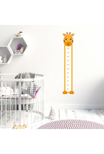 Sim Tasarım Zürafa Tasarımlı Boy Ölçer