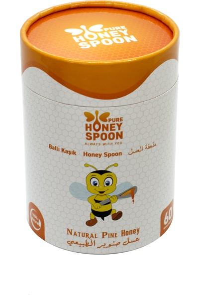 Pure Honey Spoon | Ballı Kaşık (60 x 7 gr Paket)