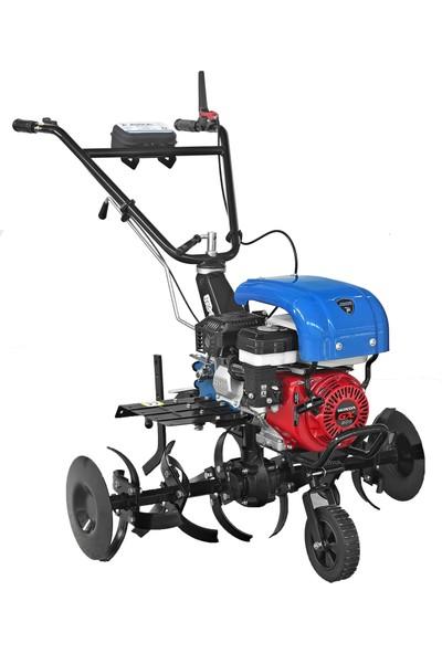 Ayka Motorlu Çapa Makinesi Honda Gx 200 6,5 Hp Benzinli Ipli Motor 2+1 Vites