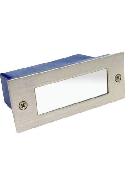 Fujika Dikdörtgen Sıva Altı LED Spot Beyaz 2 W