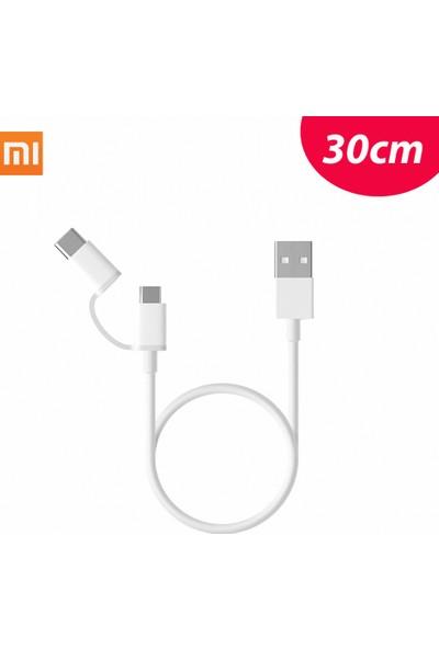 GOB2C Xiaomi Usb2.0 - Mikrousb/ Tipc Şarj Veri Kablosu