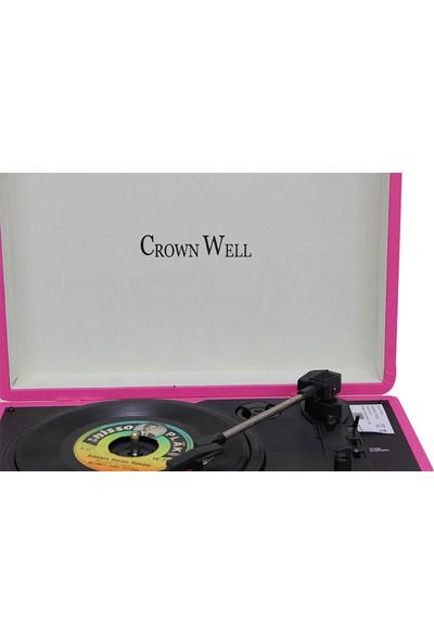 Crownwell Pikap Çantalı Pembe Yandan Hoparlör