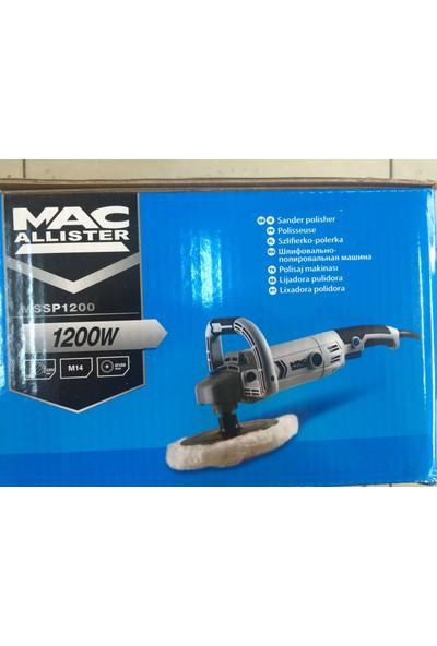 Mac Allister 1200 W Pasta Cila Polisaj Makinesi
