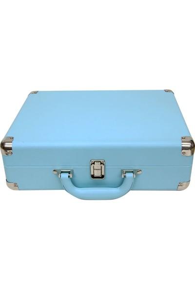 Pikap Çantalı Crownwell Mavi Yandan Hoparlör