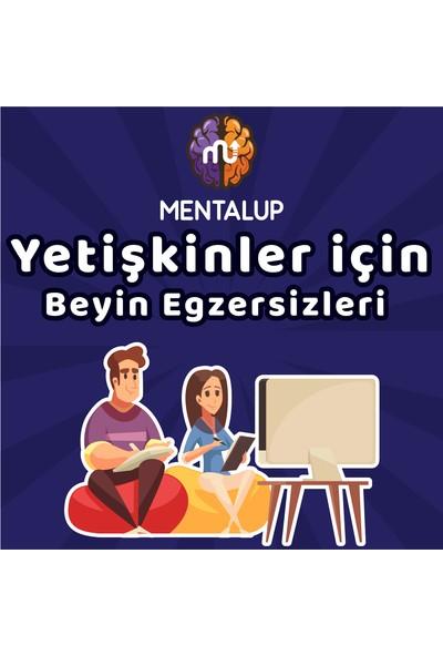 Mentalup Yetişkinlikler Için Beyin Eğzersizleri Paketi