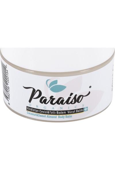 Paraiso Organics Hindistan Cevizi&tatlı Badem Vücut Balmı