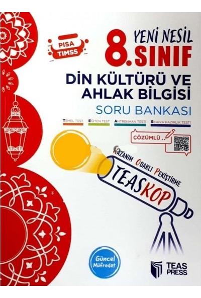 Teas Press 8. Sınıf Teaskop Din Kültürü Soru Bankası