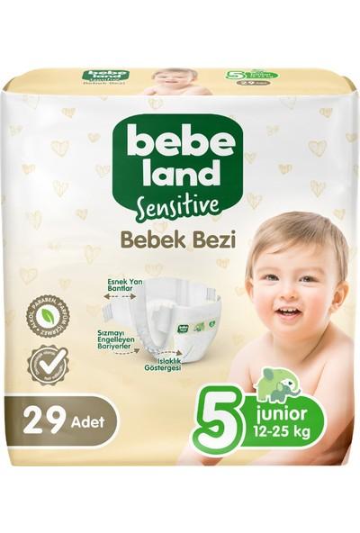 Bebeland Sensitive Bebek Bezi 5 Numara 29 Adet