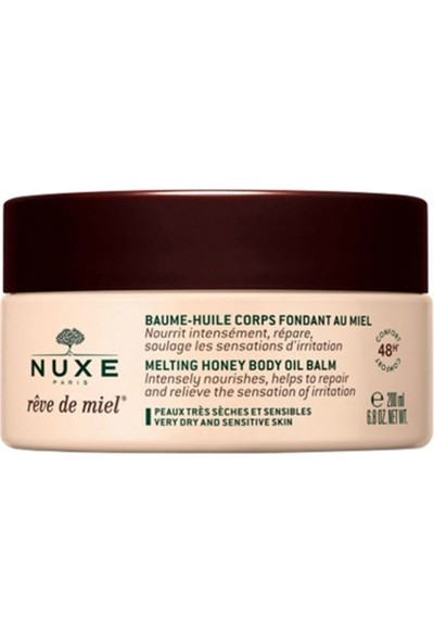 Nuxe Melting Honey Body Oil Balm 200 ml