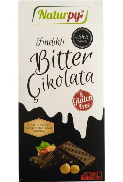 Naturpy Glutensiz Fındıklı Bitter Çikolata 100 gr