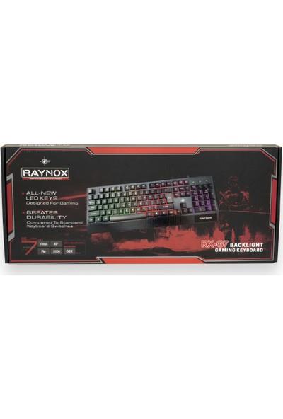Raynox G7 Mekanık Hisli RGB Oyuncu Klavye