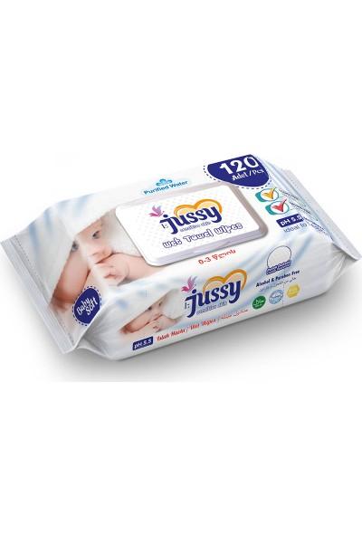 Jussy Bebek Serisi Islak Havlu 120*12 1440 Yaprak